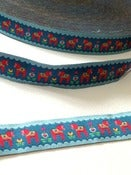 Image of Dala Horse woven ribbon (by the metre)