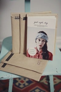"Image of DIY ""good night, day : modern & minimalist knitting patterns"" booklet"