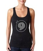 Image of PS 9 Women's Embellished Burnout Razor Tank