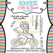 Image of Kich N Bleus Designs~ Kich Sonrie