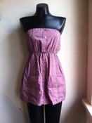 Image of XS/S Vintage Guayabera Dress - Dusty Rose