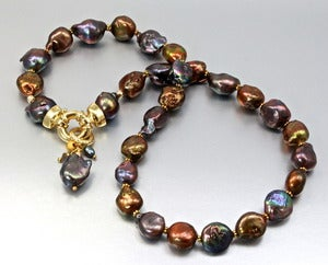 "Image of ""Margarita"" - Baroque Pearls Necklace"