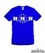 Image of THE ELEVEN STAR BMB TEE (BLUE)