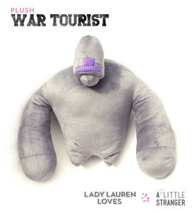 Image of Plush War Tourist Grey