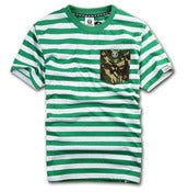 Image of NEW! AAPE by Bape Stripe Camo Pocket T-Shirt Collection