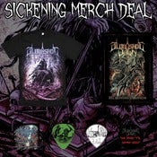 Image of Sickening Merch Deal (No CD) *Pre Order*