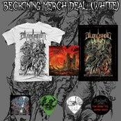 Image of White Beckoning Merch Deal