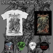Image of Beckoning White Merch Deal (No CD) *Pre Order*