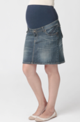 Image of Ripe Lite Denim Short Skirt