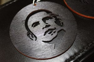 Image of OBAMA EARRINGS