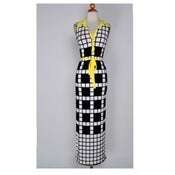 Image of Checker Board Dress