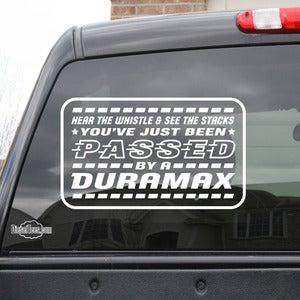Duramax Sticker... Lifted Duramax Diesel Blowing Smoke