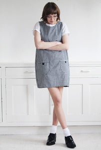 Image of Tilly Gingham Pinafore