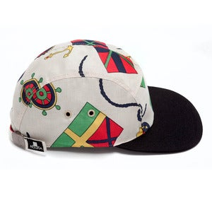 Image of MOUPIA Nautical 5 panel hat