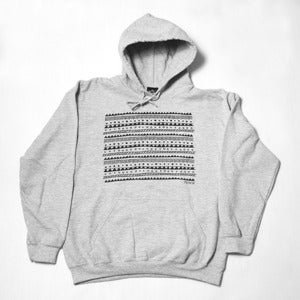 Image of Preview Tribe Hoodie, Heather grey