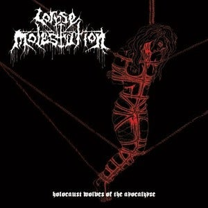 "Image of Corpse Molestation  "" Holocaust Wolves of The Apocalypse "" CD"