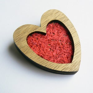Image of Brooch - You Stitched Up My Heart (Free Shipping)