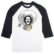Image of Pancho Villa With Gold Chainz (Raglan tee)