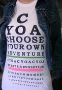 Image of 2010 CYOA! SHIRT - WHITE