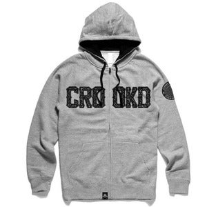 Image of Crooked Zip Hood
