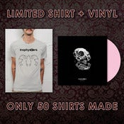"Image of **PRE-ORDER** LMTD ED Shirt + Goodnight Alchemy 12"" Vinyl Bundle"
