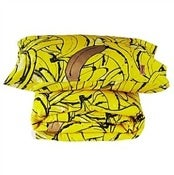 Image of Kip & Co Kids Bananas Quilt Cover & Pillowcase Set
