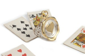 Image of Poker Wax Seal Ring with top
