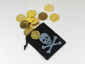 Image of Pirate Pouch & Coins