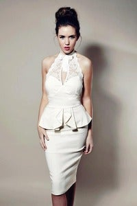 Image of Tempest Cream Becki Dress