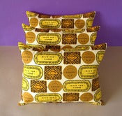 Image of Biscuit Mix Printed Cushion - Sunshine