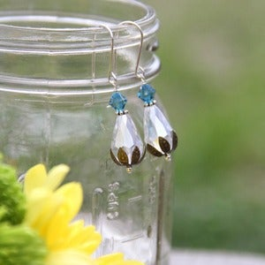 Image of Something Blue earrings