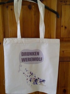 Image of DrunkenWerewolf Tote-bag