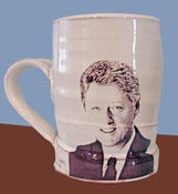 Image of Bill Clinton Mug by Justin Rothshank