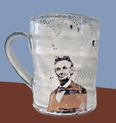 Image of Copper Abraham Lincoln Mug by Justin Rothshank