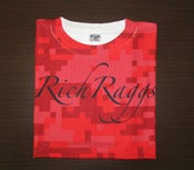 Image of Rich Raggs Red Digi Camo Tee