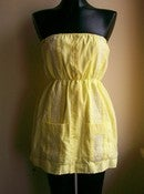 Image of MD Vintage Guayabera Dress - Buttercup Yellow