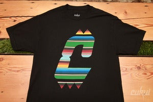 Image of Sarape Tee - Black