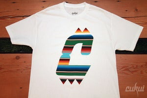Image of Sarape Tee - White