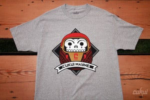 Image of Die da Daruma Tee - Athletic Gray