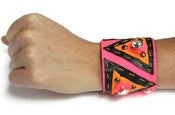 Image of Brazalete tribal rosa neón