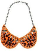 Image of Collar Peter Pan Naranja