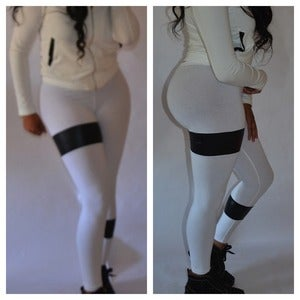 "Image of ""White Bandage Babe"" Leggings"