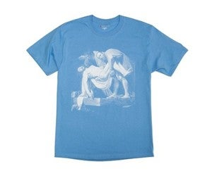Image of Pyrex Vision Religion Tee Shirt Blue 