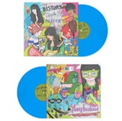"Image of The History Of Apple & Younge Husband Split 7"" (Blue Vinyl)"