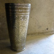 Image of brass lassi cup