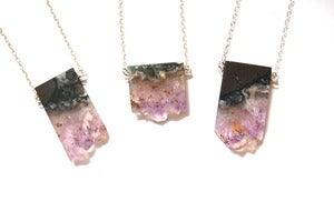 Image of Amethyst Slice Necklace