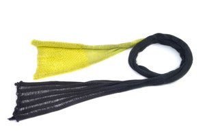 Image of The Gem scarf   Grey/Yellow/Green 