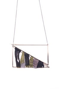 Image of Big elenii Triangle Black/Khaki/Silver