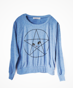 Image of PENTAGRAM CAT SWEATSHIRT