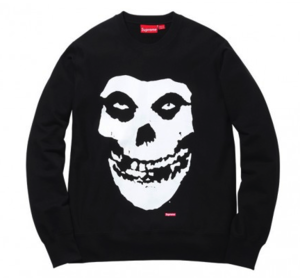 Image of Supreme The Misfits Crewneck Sweatshirt 
